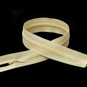Молния MaxZipper пласт. потайная №3 50см н/р цв.F106 кремовый упак.10 шт