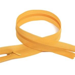 Молния MaxZipper пласт. потайная №3 50см н/р цв.F112 жёлтый упак.10 шт