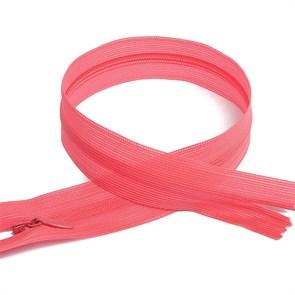 Молния MaxZipper пласт. потайная №3 50см н/р цв.F142 розовый упак.10 шт