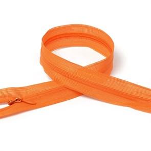 Молния MaxZipper пласт. потайная №3 50см н/р цв.F157 оранжевый упак.10 шт