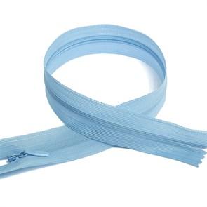 Молния MaxZipper пласт. потайная №3 50см н/р цв.F184 голубой упак.10 шт