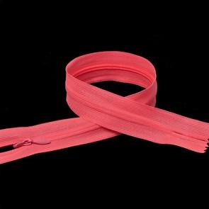 Молния MaxZipper пласт. потайная №3 50см н/р цв.F335 розовый неон упак.10 шт