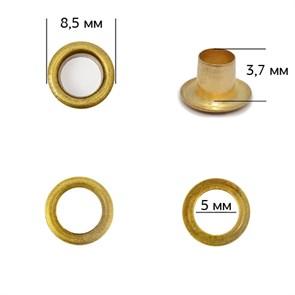 Люверсы сталь TBY.2090 №3 (d 5мм, h 3,7мм) цв. антик уп. 1000шт