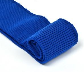 Подвяз 8х70 см 100% ПАН арт.ПРЦ-32/2 рапорт 2х2 плетение ластик цв. 520/0 василек (ярко-синий) 2шт