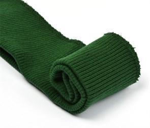 Подвяз 8х70 см 100% ПАН арт.ПРЦ-32/2 рапорт 2х2 плетение ластик цв. 531/1 т.зелень 2шт