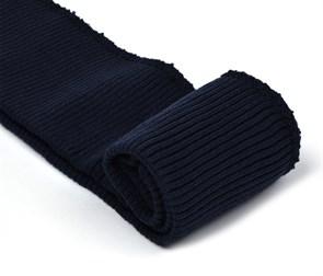 Подвяз 8х70 см 100% ПАН арт.ПРЦ-32/2 рапорт 2х2 плетение ластик цв. 571/0 м.синий 2шт