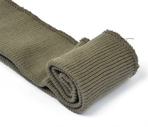 Подвяз 8х70 см 100% ПАН арт.ПРЦ-32/2 рапорт 2х2 плетение ластик цв. 594/1 шерри (темно-серый) 2шт