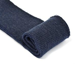 Подвяз 8х70 см 100% ПАН арт.ПРЦ-32/2 рапорт 2х2 плетение ластик цв. 877/2 т.джинсовый 2шт