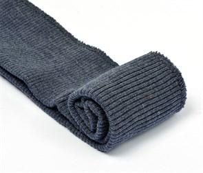 Подвяз 8х70 см 100% ПАН арт.ПРЦ-32/2 рапорт 2х2 плетение ластик цв. 877/М джинсовый 2шт
