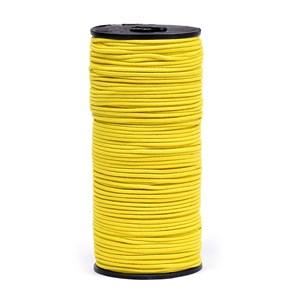 Резинка TBY шляпная (шнур круглый) цв.F110 желтый 2мм рул.100м