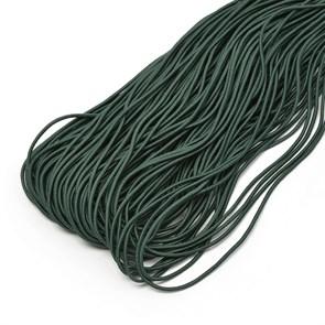 Резинка TBY шляпная (шнур круглый) цв.F273 зеленый 2мм рул.100м