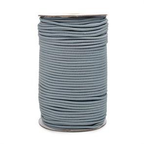 Резинка TBY шляпная (шнур круглый) цв.F321 т.серый 3,0мм рул.100м