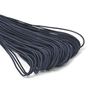 Резинка TBY шляпная (шнур круглый) цв.F330 синий 3,0мм рул.100м