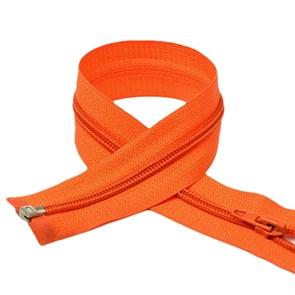 Молния MaxZipper пласт. спираль №5-N 40см цв.F157 оранжевый упак.10шт