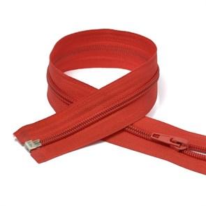 Молния MaxZipper пласт. спираль №5-N 80см цв.F162 красный упак.10шт
