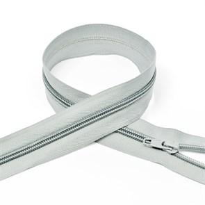 Молния MaxZipper пласт. спираль №5-N 80см цв.F314 св.серый упак.10шт