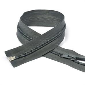 Молния MaxZipper пласт. спираль №5-N 80см цв.F320 серый упак.10шт