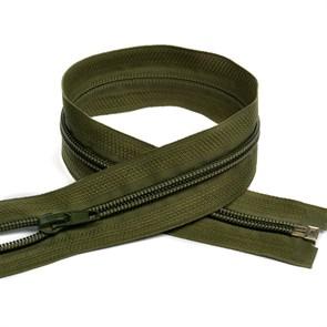 Молния MaxZipper пласт. спираль №5-N 80см цв.F327 оливковый упак.10шт