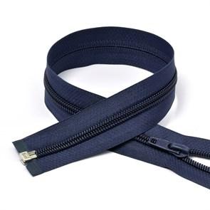 Молния MaxZipper пласт. спираль №5-N 80см цв.F330 синий упак.10шт